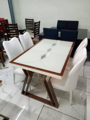 marble top dinning set in vizag - 10