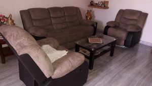 shaped sofa set