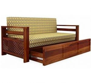 Pitch Pine Sofa Set