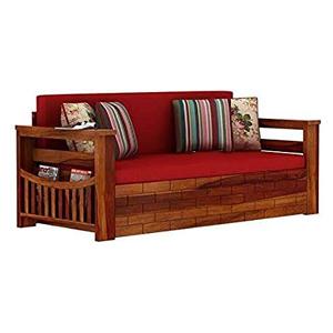 Brick Wood Sofa Set