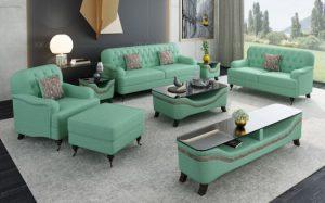 Gesture green sofa set