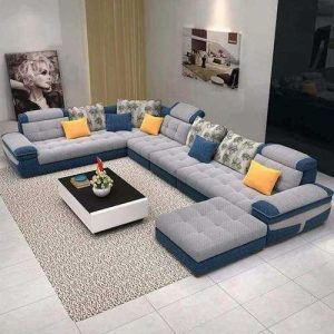 Gentle u shape sofa set