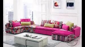 Pink rose sofa set