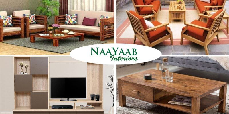 Different wood furniture products
