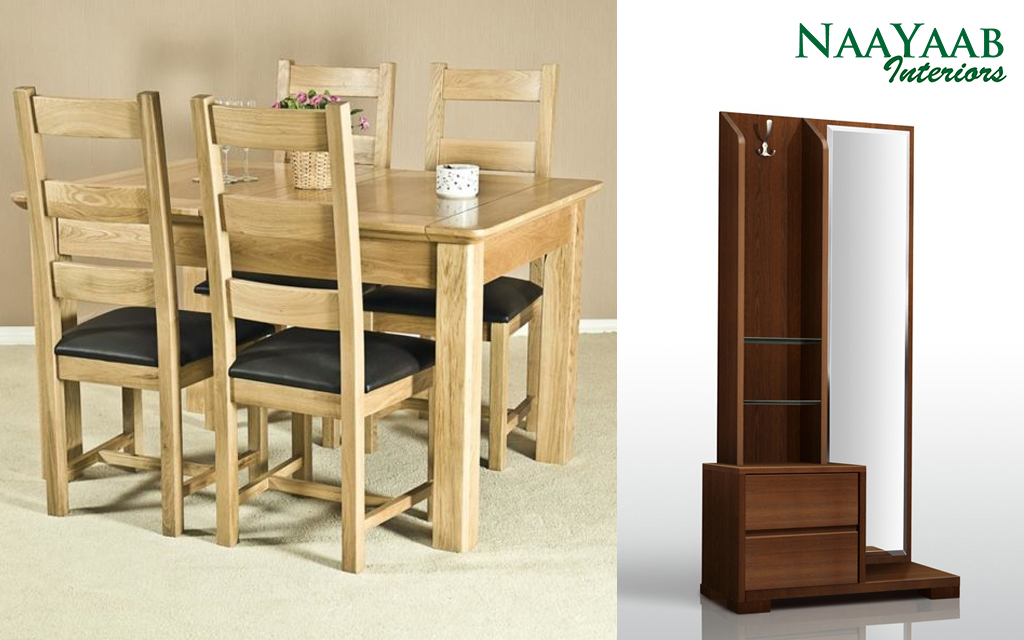Dining and Dressing Tables