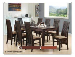 Havana 8-Seater Dining Table Set