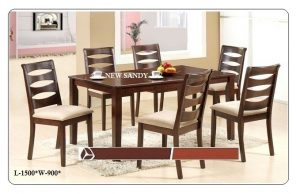 New Sandy 6-Seater Dining Table Set