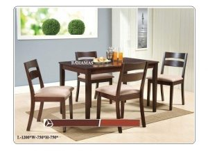 Bahamas 4 Seater Dining Table Set