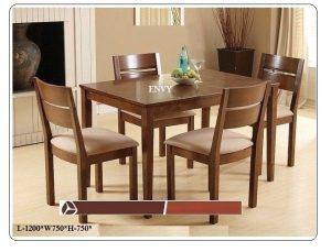 Envy 4-Seater Dining Table Set