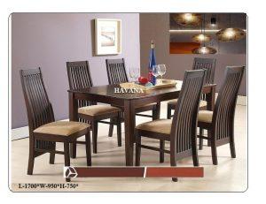 Havana 6-Seater Dining Table Set