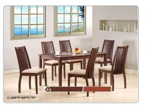 Michu 6-Seater Dining Table Set