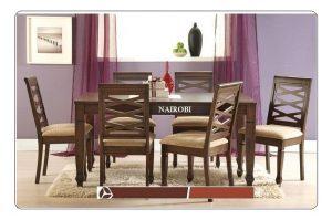 Nairobi 6-Seater Dining Table Set