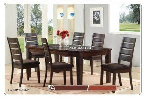 New Martini 6-Seater Dining Table Set
